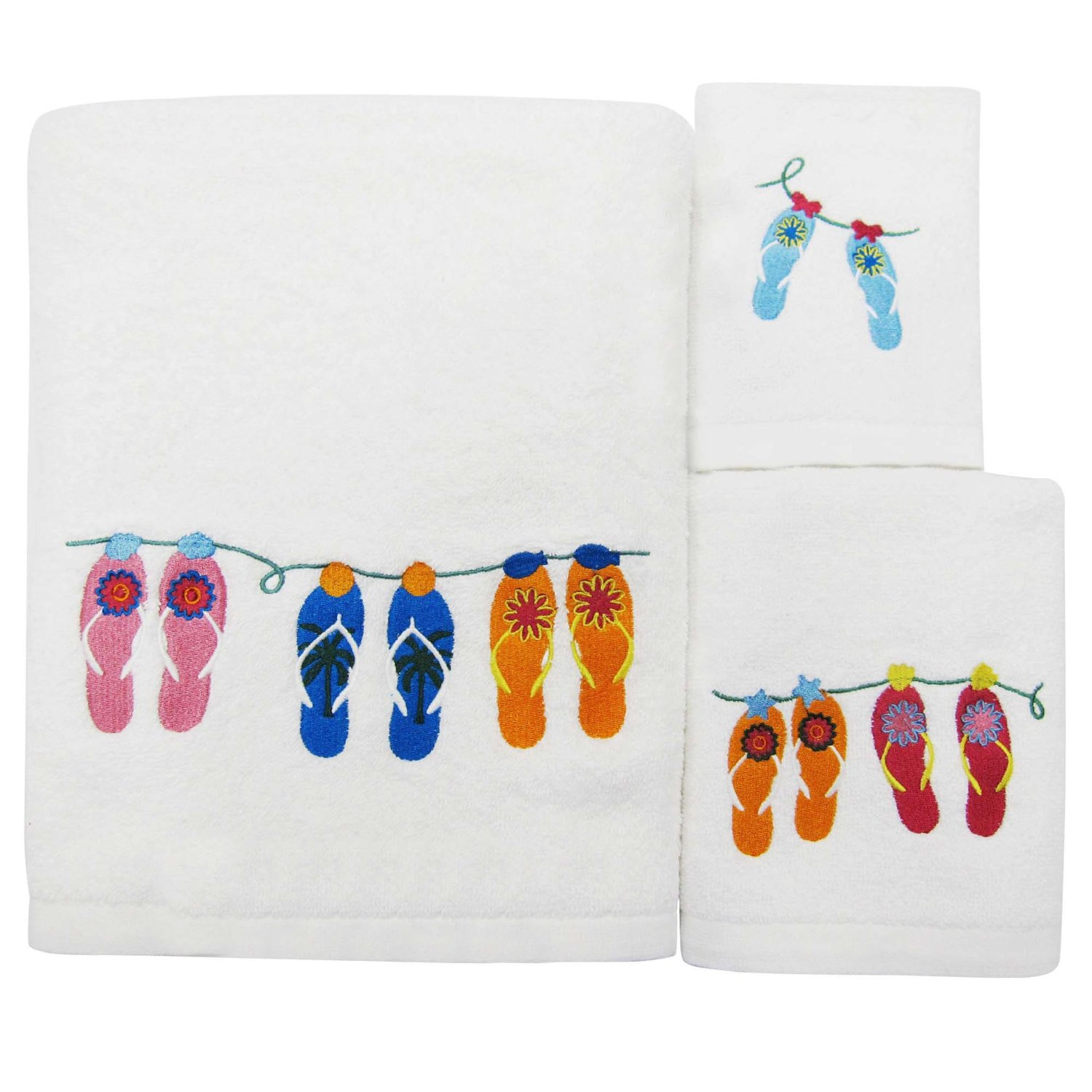 Allure Home Creations Sun and Sand Towel