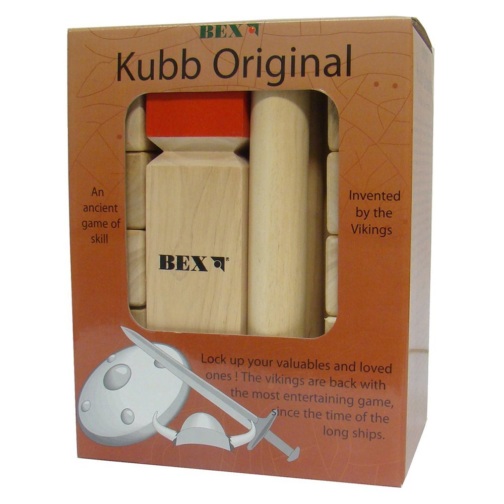 Kubb Game - Original Red King